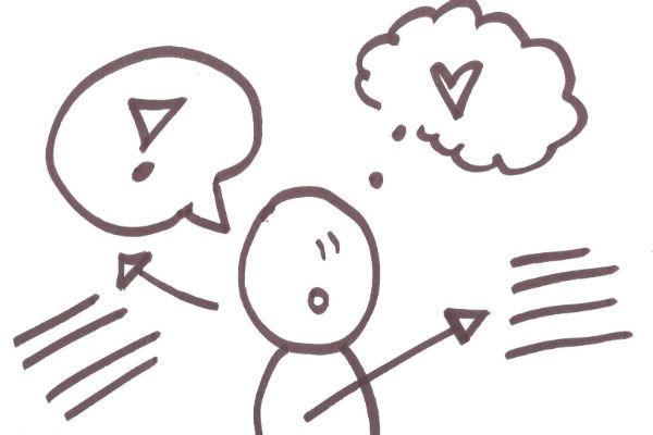 brug tegning under samtaler